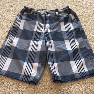 Adjustable waist dress shorts